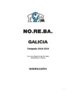 NOREBA 2018-19 – Modificacións