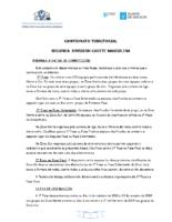 2ª División Cadete Masculina. Liga Terrirorial. Bases Competición 2018-19
