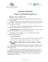 2ª División Xuvenil Masculina. Liga Territorial. Bases Competición 2018-19