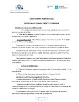 División Honra Cadete Feminina. Liga Territorial. Bases Competición 2018-19
