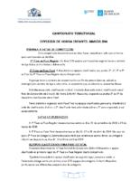 División Honra Infantil Masculina. Liga Territorial. Bases Competición 2018-19