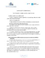 División Honra Xuvenil Masculina. Liga Territorial. Bases Competición 2018-19