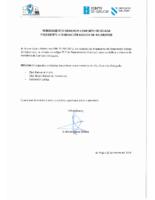 Nomeamento Comisión Delegada