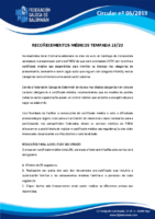 CIRCULAR 6 (CERTIFICADOS MÉDICOS)