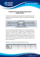 CIRCULAR Nº 16 INSCRICIÓN EQUIPOS ALEVÍN BENXAMÍN E PREBENXAMÍNS