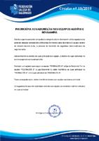 CIRCULAR Nº 19 TRAMITACIÓN LICENZAS ALEVÍN E BENXAMÍN