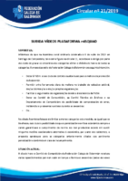 CIRCULAR Nº 21 SUBIDA VÍDEOS PLATAFORMA MISQUAD
