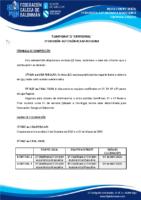 1º DIVISIÓN AUTONÓMICA MASCULINA 19-20 – BASES DE COMPETICIÓN