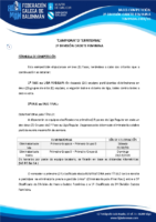 2ª DIVISIÓN CADETE FEMININA 19-20 – BASES DE COMPETICIÓN
