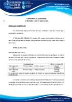 2ª DIVISIÓN CADETE MASCULINA 19-20 – BASES DE COMPETICIÓN
