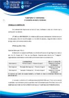 2ª DIVISIÓN INFANTIL FEMININA 19-20 – BASES DE COMPETICIÓN
