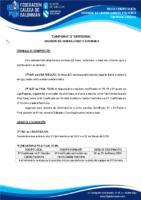 DIVISIÓN DE HONRA CADETE FEMININA 19-20 – BASES DE COMPETICIÓN