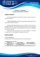 DIVISIÓN DE HONRA INFANTIL FEMININA 19-20 – BASES DE COMPETICIÓN