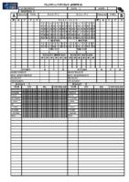 Planilla seguemento arbitral- Informe arbitral