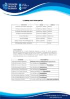 TARIFAS ARBITRALES 19-20