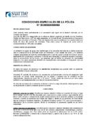 CONDICIONES ESPECIALES + PARTE 20-21