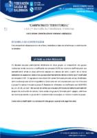 1ª AUTONÓMICA FEMININA BASES COMPETICIÓN TEMP. 2020-21
