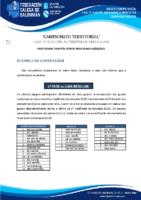 1ª AUTONÓMICA MASCULINA BASES COMPETICIÓN TEMP. 2020-21
