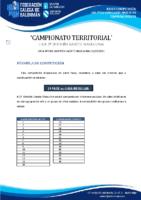 2ª DIVISIÓN CADETE MASCULINA BASES COMPETICIÓN TEMP. 2020-21