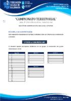 2ª DIVISIÓN XUVENIL MASCULINA BASES COMPETICIÓN TEMP. 2020-21