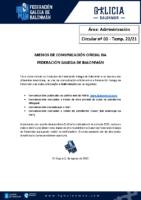 C00 – ADMINISTRACIÓN. MEDIOS COMUNICACIÓN OFICIAL FGBM