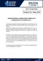 C02 – COMPETICIÓNS. SEGURO DEPORTIVO E DEREITOS DE PARTICIPACIÓN