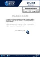 C08 – ADMINISTRACIÓN. OFICIALIDADE CIRCULARES