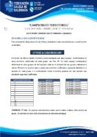 DIVISIÓN HONRA CADETE FEMININA BASES COMPETICIÓN TEMP. 2020-21