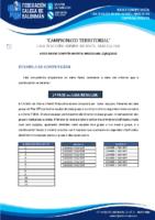 DIVISIÓN HONRA INFANTIL MASCULINA BASES COMPETICIÓN TEMP. 2020-21