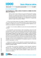 SUBVENCIÓN XUNTA EQUIPAMENTOS DEPORTIVOS 2019