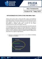 C16 – COMUNICACIÓN. RETRANSMISIÓN ENCONTROS POR STREAMING