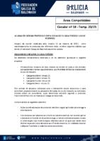 C18 – COMPETICIÓNS. ACLARACIÓNS DÚBIDAS PROTOCOLO COVID
