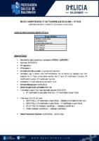 2ª AUTONÓMICA MASCULINA BASES COMPETICIÓN APROBADAS O 23-02-21