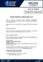 C00 – SEGURO DEPORTIVO OBRIGATORIO