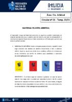 C01 – MATERIAL PLANTEL ARBITRAL