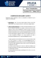 C20 – COMPETICIÓNS. BENXAMÍN E ALEVÍN 5