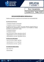 C01 – Competicións. Datas inscricións equipos