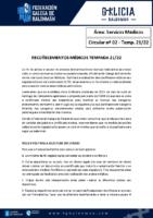 C02 – Servizos Médicos. Recoñecementos médicos
